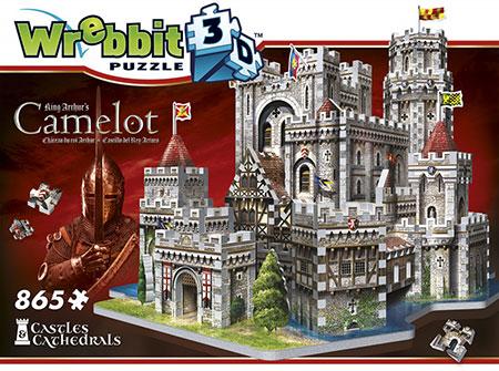 3D Puzzle - Camelot