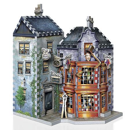 3D Puzzle - Harry Potter - Weasleys zauberhafte Scherze + Tagesprophet