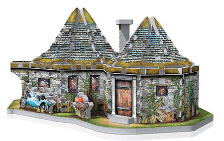 3D Puzzle - Harry Potter - Hagrids Hütte