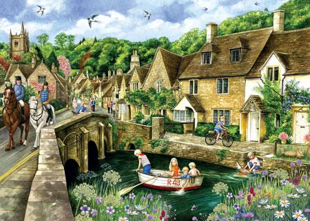 Englisches Dorf