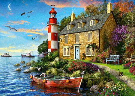 Cottage des Leuchtturmwärters