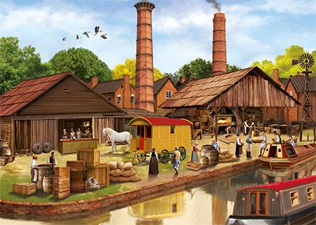 Viktorianische Mühle