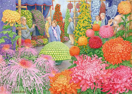 Die Blumenschau  - Optimismus und Freude