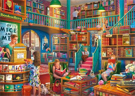 Ein Nachmittag in der Buchhandlung