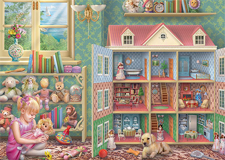 Puppenhaus - Erinnerungen