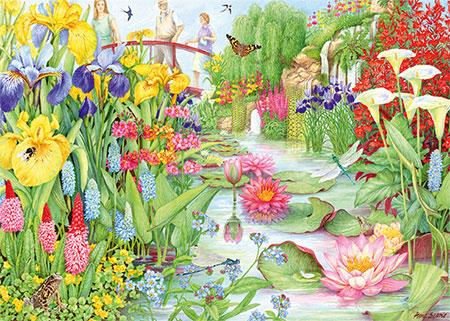 Die Blumenschau  - Der Wassergarten