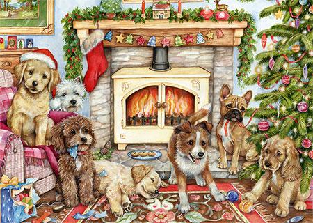 Weihnachtswelpen