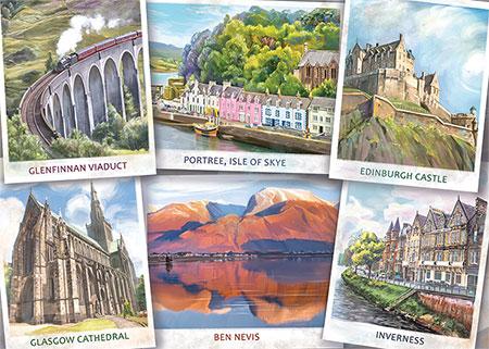 Grüße aus Schottland