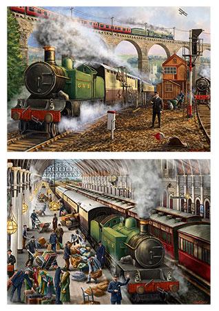 Briefe per Zug