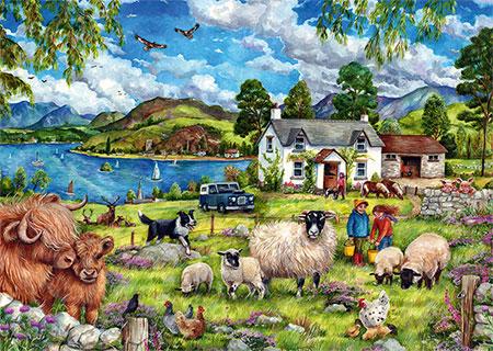 Urlaub in den Highlands