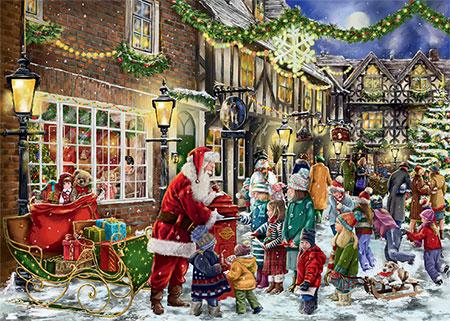Briefe an den Weihnachtsmann - 2 Puzzle
