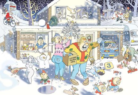 Wasgij Christmas 9 - Der erste Schnee