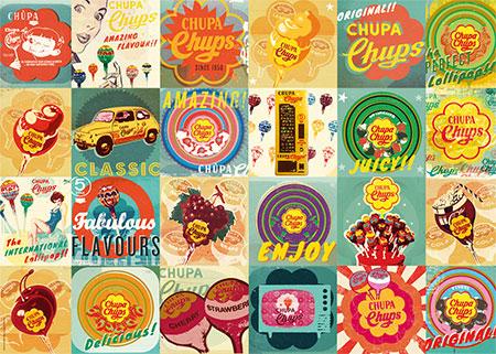 Nostalgische Chupa Chups Werbung