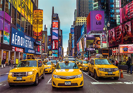 New Yorker Taxis (3000)