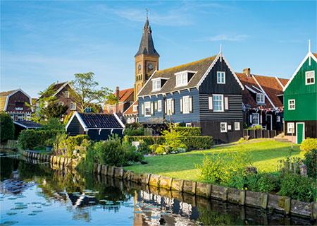 Marken Insel der Niederlande