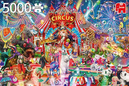 Eine Nacht im Zirkus