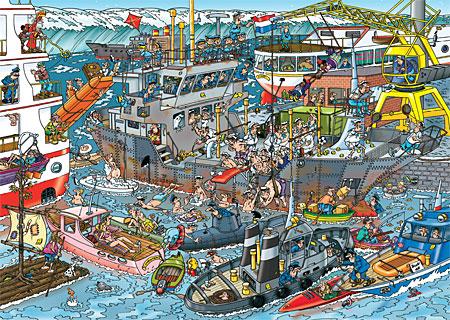 Der Seehafen