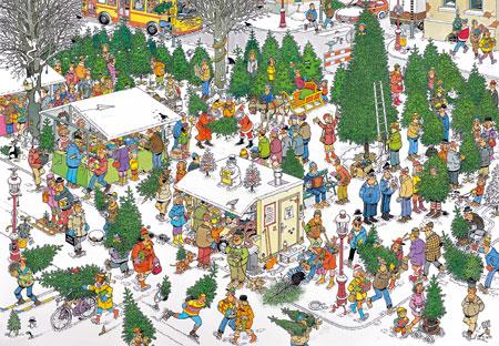 Weihnachtsbaummarkt