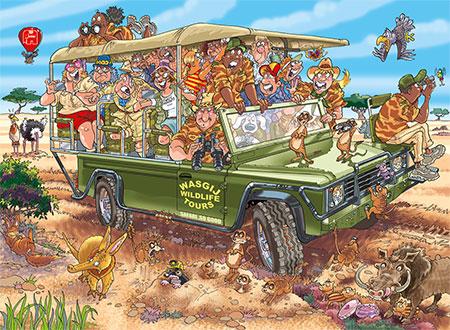 Wasgij Original 31 - Safari Überraschung!