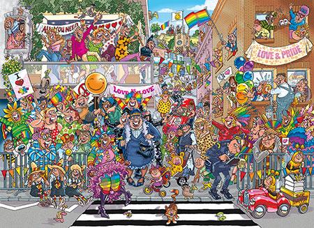 Wasgij Original 34 - Ein Stückchen Pride!