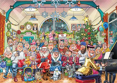 Wasgij Christmas 16 - Die große Weihnachtsshow