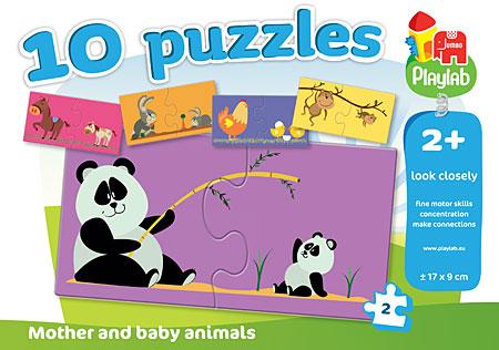 Playlab - Tiermütter und ihre Babies