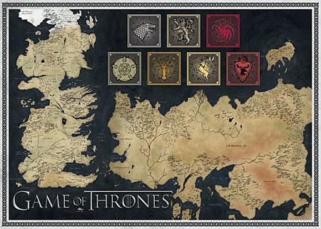 weltkarte game of thrones Jumbo 19317 Game of Thrones   Weltkarte weltkarte game of thrones