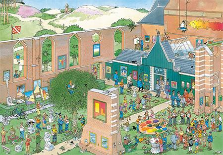 Der Kunstmarkt (2000 Teile)