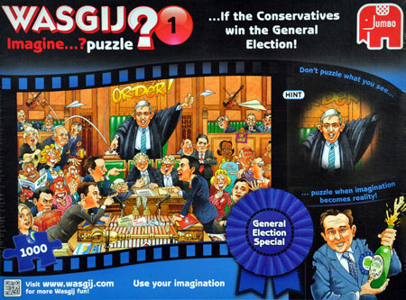 Wasgij - Was passiert wenn die Konservativen die Wahl gewinnen?