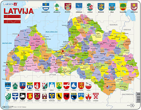 politische-karte-lettland