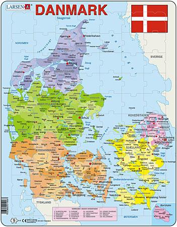 politische-karte-danemark