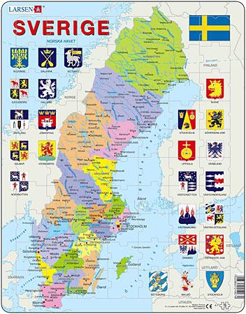 politische-karte-schweden
