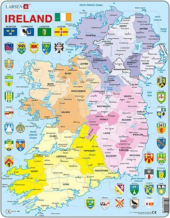 politische-karte-irland