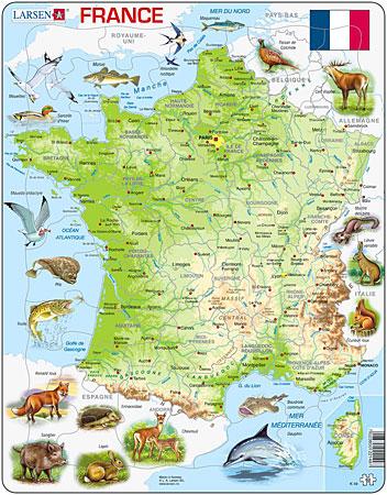 physische-karte-frankreich-mit-tieren