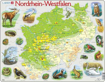 bundesland-nordrhein-westfalen-physisch