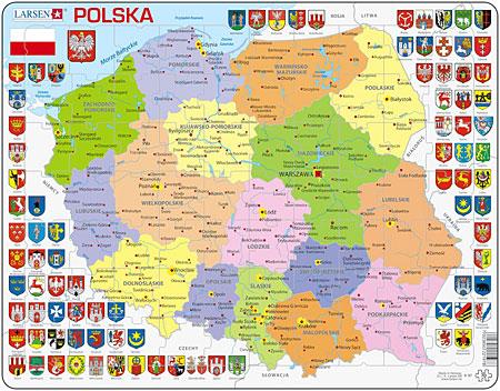 politische-karte-polen