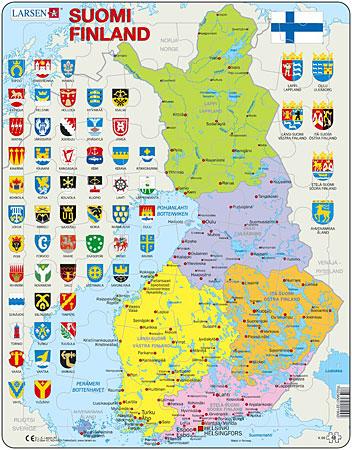 politische-karte-finnland