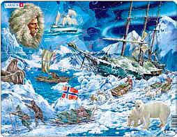 Auf dem Weg zum Nordpol