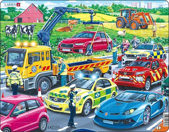 Rettungsfahrzeuge im Einsatz