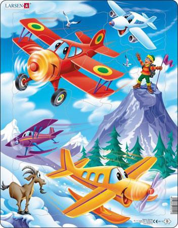 Lustige Flugzeuge