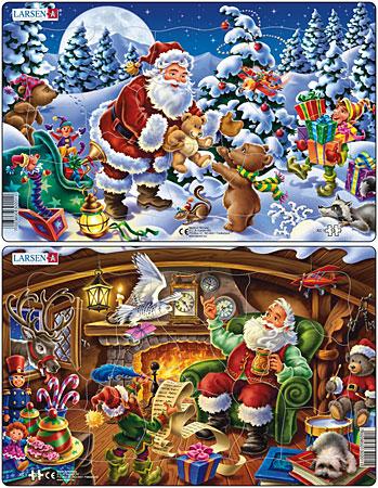 Der fröhliche Weihnachtsmann