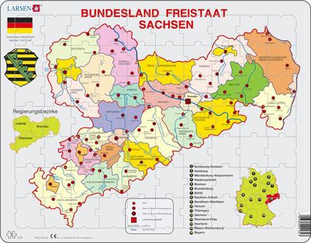 Bundesland Freistaat Sachsen