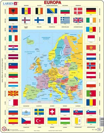 europakarte-und-flaggen