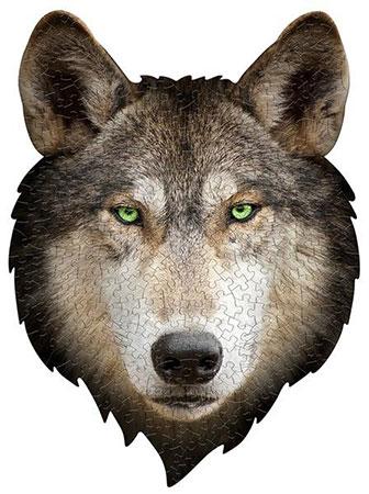 Shape Puzzle  - Wolf