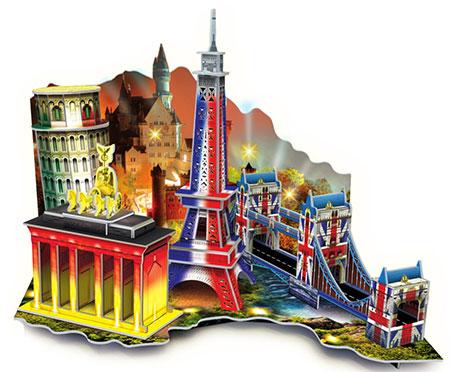 LED Diorama - Europa Reise