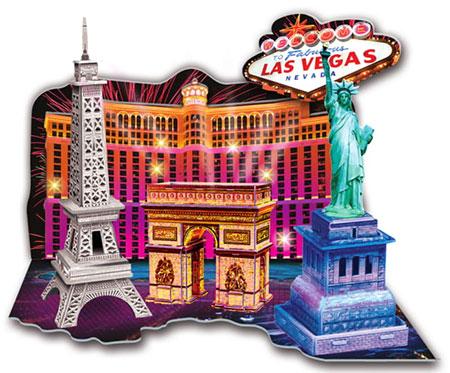 LED Diorama - Willkommen in Las Vegas