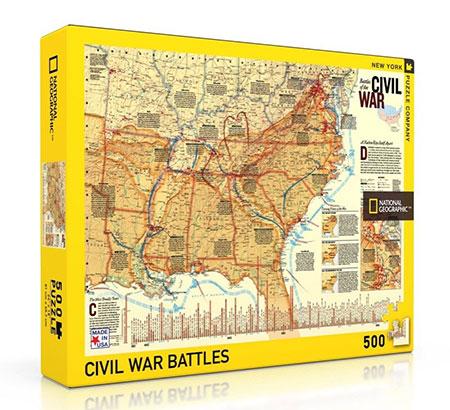 amerikanischer-burgerkrieg-karte, 12.99 EUR @ puzzle