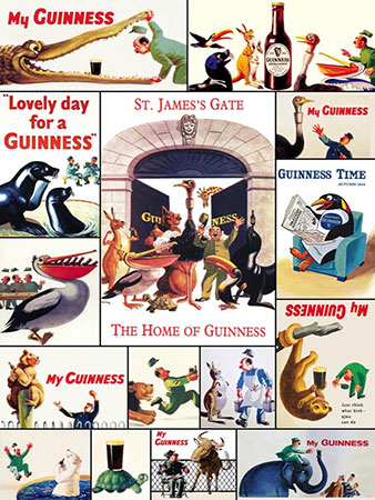 Guinness - Collage
