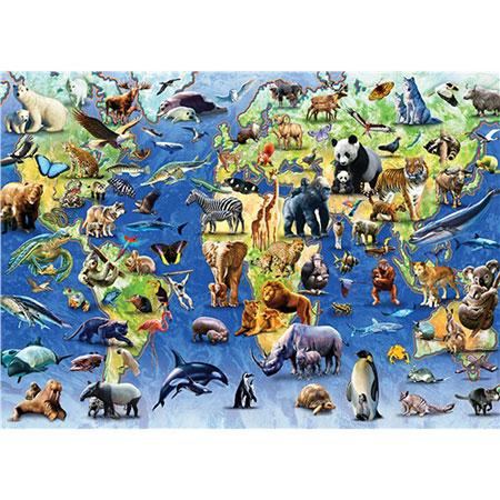 Gefährdete Tiere der Welt