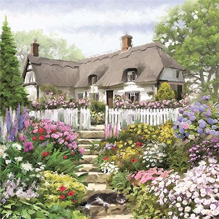 Ländliches Cottage